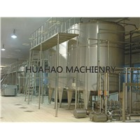 High quality large jacketed stainless steel tank