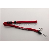 High quality polyester  detachable lanyard with prints