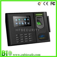 Standard Backup Battery RFID Card Fingerprint Access Control With Time Attendance  (HF-Bio800)