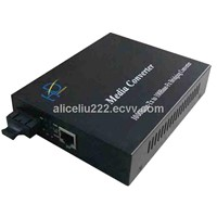 Hot-sale 10/100/1000M Ethernet Media Converter Single Mode with SC Connector 20km