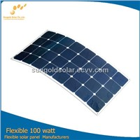 Hot sell Flexible solar panel from China factory directly
