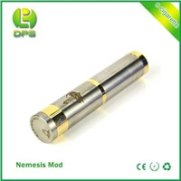Hot selling Stainless steel e-cig nemesis mechanical mod