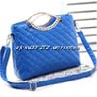 Hot selling star style fashion sweety girl's portable bag messenger handbags