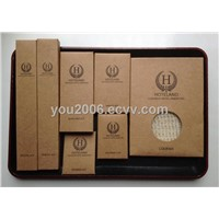 Hotel Amenities ----Kraft Box Wrapper