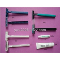 Hotel Shaving Set/ Hotel amenities/razor/ guest room amenities