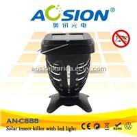 Humanely Indoor And outdoor  Solar Powered Mosquito Killer UV Lamp