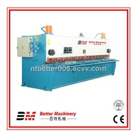 Hydraulic guillotine shear with good performance