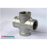 ISO4144 Standard 150lb stainless steel Cross BSP