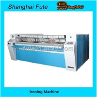 Industrial flatwork ironing machine