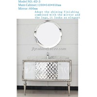 JFY Stainless Steel Bathroom Cabinet 4D-3