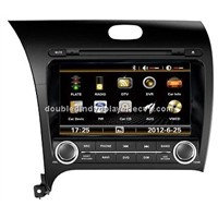 KIA CERATO double Din Car DVD Player with accurate navigations sytem multimedia