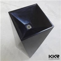 KKR Wholesale acrylic solid surface bathroom basin/artificial waterfalls wash basin