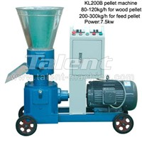 KL200 best selling flat die pellet mill