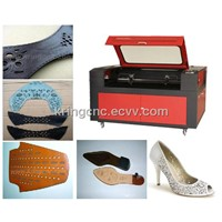 KR960 CO2 Laser cutting leather shoe machinery