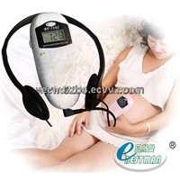 LCD Freeze function Homeuse handhold doppler Fetal heart rate with CE&ISO BF-510S
