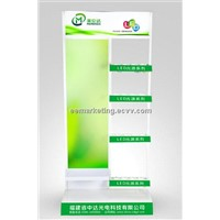 LED display LED lamps exhibition shelf LED Display board bulbs ODM service supply CE standard