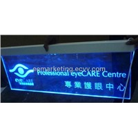 LED lightes channel letters arylic sign LED sign 1000 pattern option OEM order welcomed