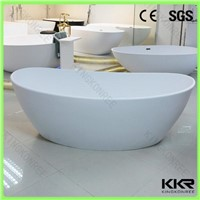 Latest Design Solid Surface Freestanding Bathtub