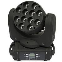Multi-angle Led Beam Moving Head Lighting 12*12w RGBW 4 in 1