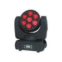 LED Moving Head Light 7PCS*12W RGBW 4 in1 Osram LED Stage Lighting Effect Fixture