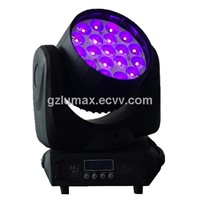 Led moving head wash 19*12w RGBW 4 in 1 zoom