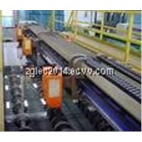 Longitudinal cutting machine