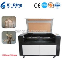 MDF CO2 Laser Cutting Machine with blade table KR1390