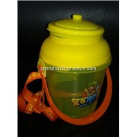 Popcorn Plastic  Bucket  with Hot-transfer Printing,Customized and OEM Service