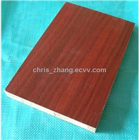 Melamine faced blockboard plywood