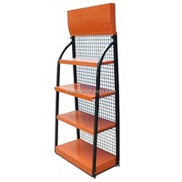 metal wire display rack/lubricating oil display rack/three layers display rack