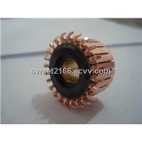 Mixer motor commutator