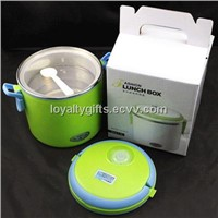 Multifunctional electric lunch box with stainless steel inner pot