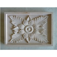 Natural 3D artistic sculptural sandstone wall cladding tiles