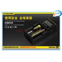 New !!! LCD Nitecore D2  IMR/Lifepo4/NiMh/NiCd AA AAA battery charger