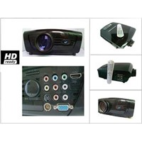 New product DG-747 LED projector with HDMI and USB input,longer life lamp 100000 hours,low voice