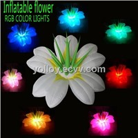 Nice Ideas Inflatable Lighting Flower Portable Durable RGB LED Bulb for Party Stage Events Activity