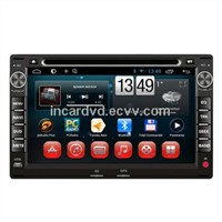 OEM Manufacturer In Dash Radio DVD Car Multimedia for VW Spacecross / Spacefox / Passat B5