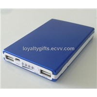 OEM colorfurl 4000MA solar energy power bank