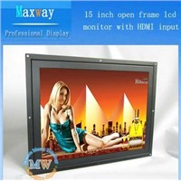 Open frame 15 inch hdmi monitor