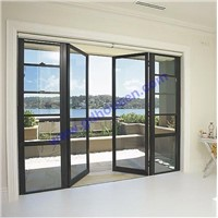 Opening door with grey glass,double opening door,french doors,multi point lock opening door