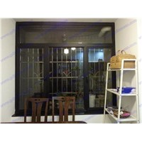 Opening window for home,black color windows,double glazed window