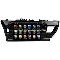 Ouchuangbo audio gps radio for pure android 4.2 Toyota Corolla 2014