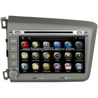 Ouchuangbo car stereo radio DVD for android 4.2 Honda Civic 2012