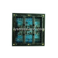 P10 Full Color Outdoor LED Display Module Panel , DIP 160*160mm