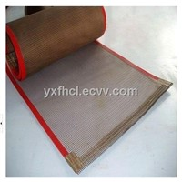 PTFE coated open mesh conveyor belt