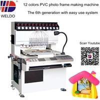 PVC photo frame making machine with easy operate system