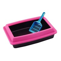 Pet litter pan, pet litter box, pet toilet
