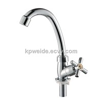 2015 Hot Sale Plastic Nickle Chrome Plating Kitchen Faucet KF-3001