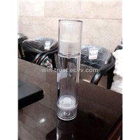 Plastic Vacuum Cream Pump Bottle with Sprayer