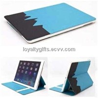 Popular Tablet PC Ipad Air  double side Usage PU leather Case